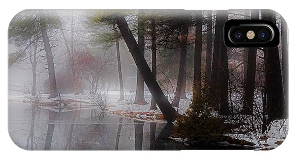 IPhone Case featuring the photograph In A Fog by Kendall McKernon