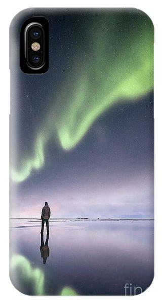 Desolation iPhone Case - In Awe by Evelina Kremsdorf