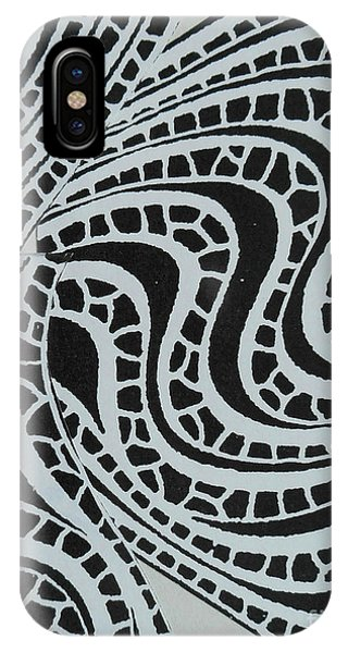 In Black And White IPhone Case