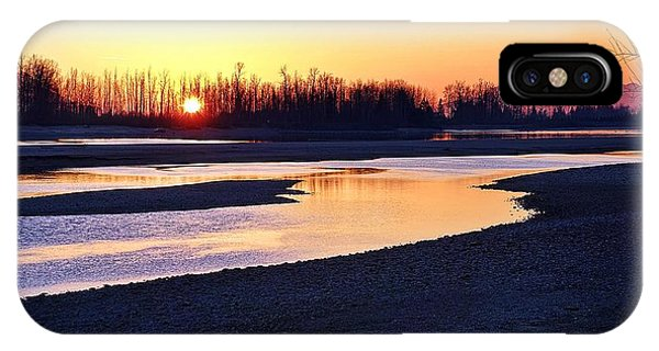 The Fraser River IPhone Case