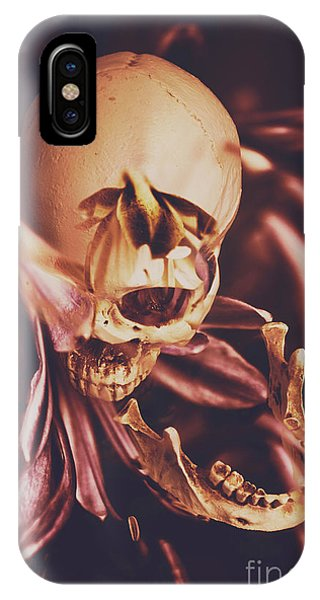 Orchid iPhone Case - In Contrasts Of Soul Growth by Jorgo Photography - Wall Art Gallery