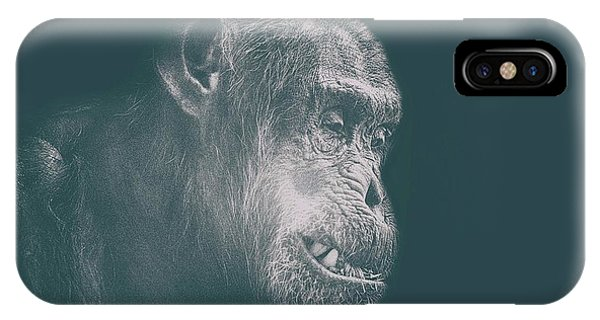 In Deep Thought IPhone Case