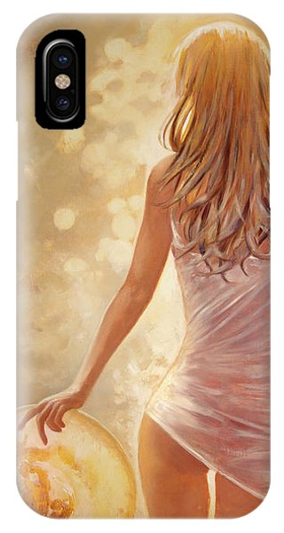 In Fields Of Summer Gold IPhone Case