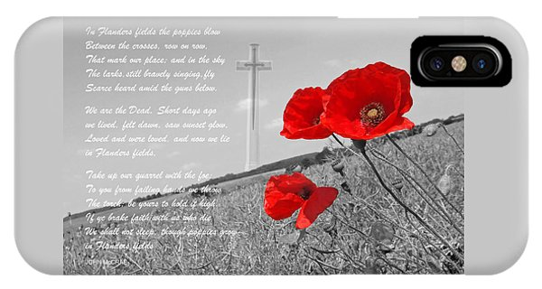 In Flanders Fields IPhone Case