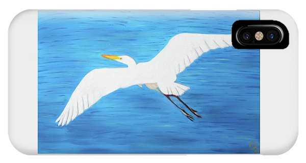 IPhone Case featuring the mixed media In Flight Entertainment by Deborah Boyd