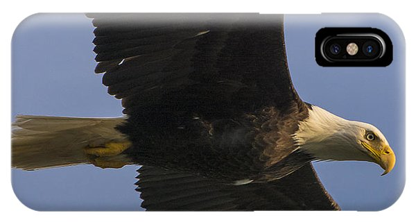 IPhone Case featuring the photograph In Flight by Gary Lengyel