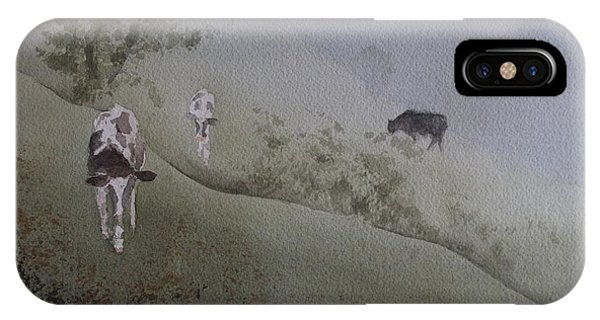 In From The Fog IPhone Case