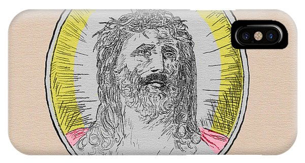 In Him We Trust Colorized IPhone Case
