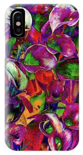 Las Vegas iPhone X Case - In Living Color by Az Jackson