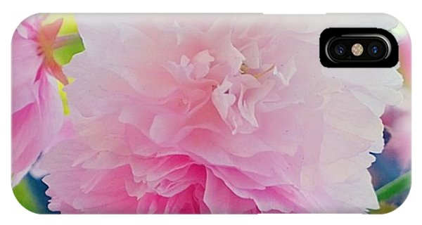 Florals iPhone Case - In Love With This Delicate #pink #tree by Shari Warren