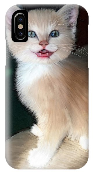 In Memoriam Baby Gussy IPhone Case
