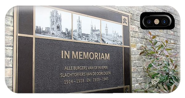 In Memoriam - Ypres IPhone Case