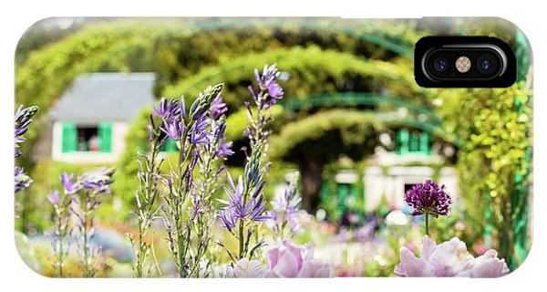In Monet's Garden IPhone Case