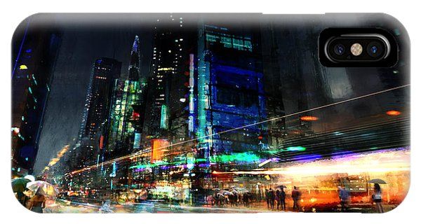 Colorful iPhone Case - In Motion by Philip Straub