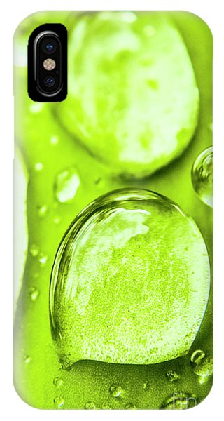 Water Droplets iPhone Case - In Natural Macro by Jorgo Photography - Wall Art Gallery