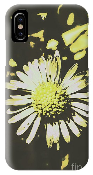Garden Wall iPhone Case - In Retro Spring by Jorgo Photography - Wall Art Gallery