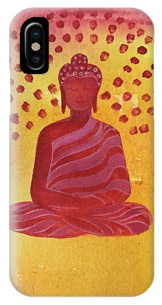 Siddharta iPhone Case - In Search Of Life - Lord Buddha by Nayna Tuli Fineart