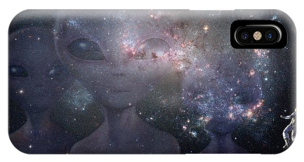 In Space IPhone Case