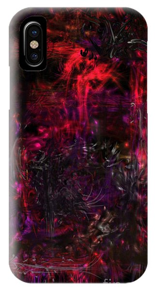 IPhone Case featuring the digital art In The Ancients Chambers by Reed Novotny