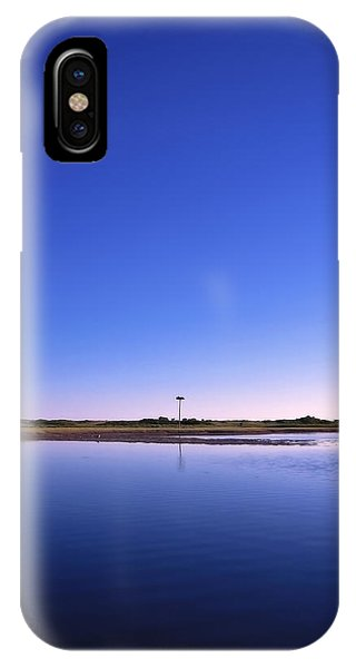 New England Coast iPhone Case - In The Blue by Evelina Kremsdorf