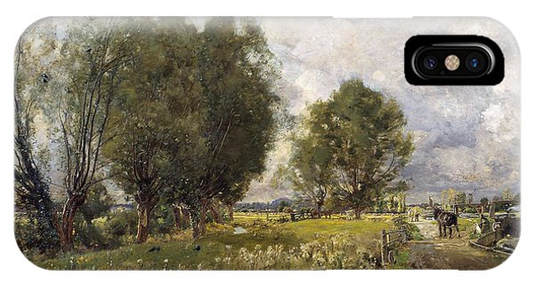 In The Country Of Constable  IPhone Case