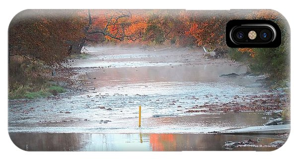 In The Early Morning Mist IPhone Case