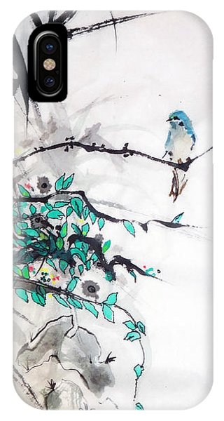 In The Foliage IPhone Case