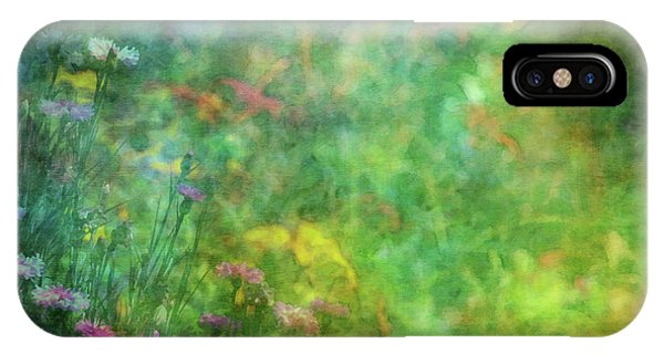 In The Garden 2296 Idp_2 IPhone Case