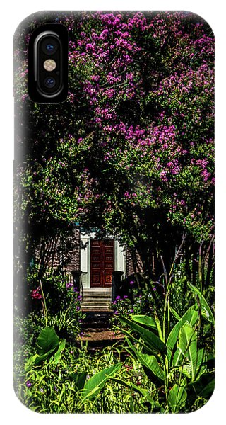IPhone Case featuring the photograph In The Garden - The Hermitage by James L Bartlett