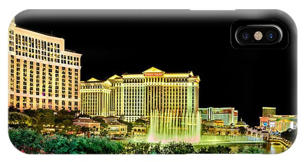 Palace iPhone X Case - In The Heart Of Vegas by Az Jackson