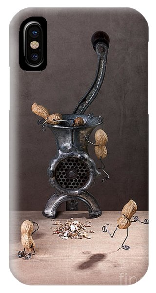 In The Meat Grinder 01 IPhone Case