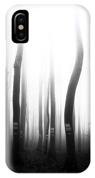 In The Misty Forest IPhone Case