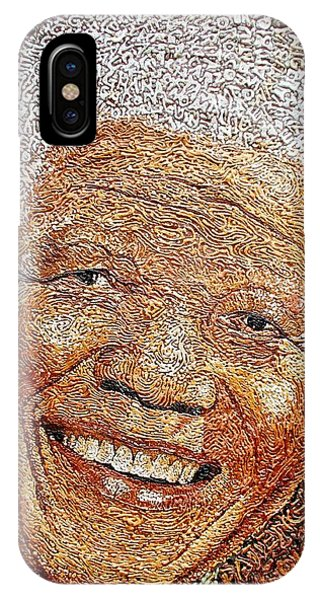 Nelson Mandela - In The Pyramid Of Our Minds IPhone Case
