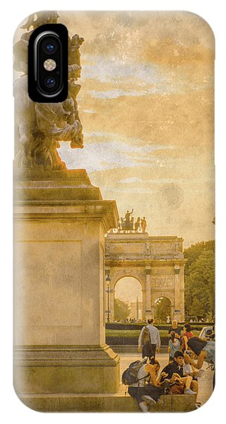 Paris, France - In The Shadow Of Glory IPhone Case