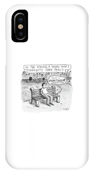 In The Spring IPhone Case