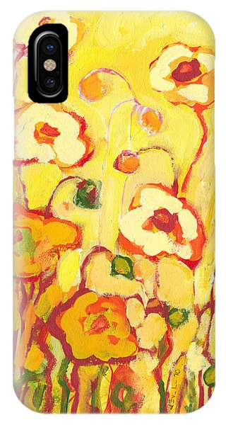 Poppies iPhone Case - In The Summer Sun by Jennifer Lommers