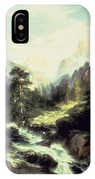 In The Teton Range IPhone Case