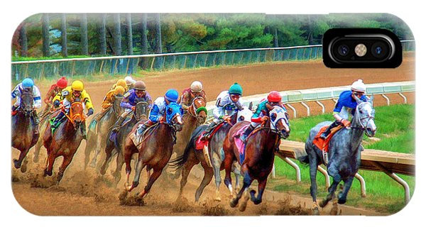In The Turn #2 IPhone Case