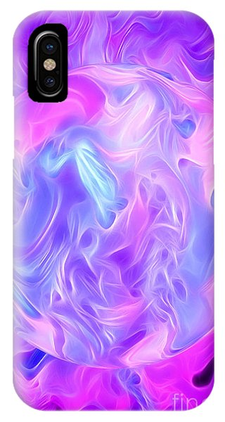 Visual Illusion iPhone Case - In This Fantasy World by Krissy Katsimbras