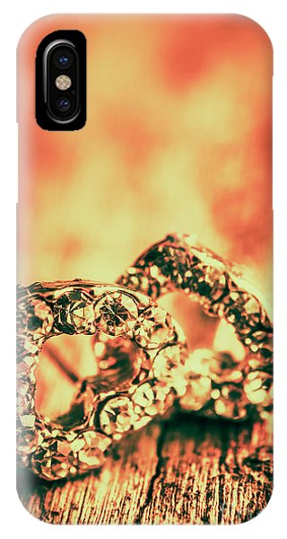 Jewelery iPhone Case - In Valentine Style by Jorgo Photography - Wall Art Gallery