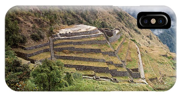 Inca Ruins And Terraces IPhone Case