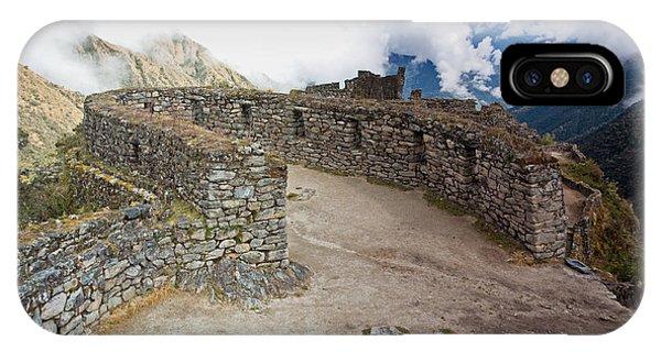 Inca Ruins In Clouds IPhone Case