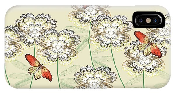 Incendia Flower Garden IPhone Case