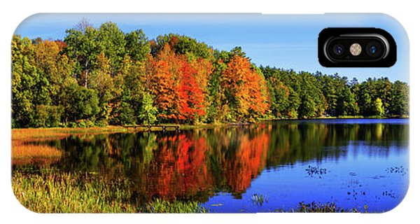 Pond iPhone Case - Incredible Pano by Chad Dutson