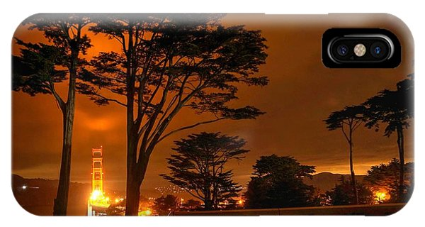 Indeed The Bridge Is Golden IPhone Case