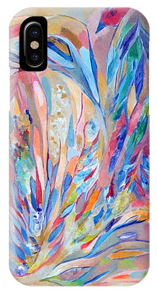 IPhone Case featuring the painting Independence Day by Linda Cull