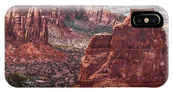 Independence Monument At Colorado National Monument IPhone Case