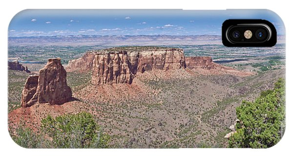 IPhone Case featuring the photograph Independence Pano by Jeff Loh