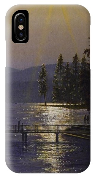 Independence Point, Lake Coeur D'alene IPhone Case