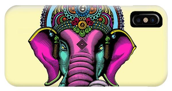 Buddhism iPhone Case - India  by Mark Ashkenazi